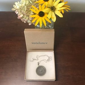 Sundance Sterling Silver Medallion Necklace